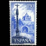 MONASTER. VERUELA - AÑO 1967 - Nº EDIFIL 1834 - 1931-Hoy: 2ª República - ... Juan Carlos I