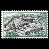 MONASTER. VERUELA - AÑO 1967 - Nº EDIFIL 1835 - 1931-Hoy: 2ª República - ... Juan Carlos I