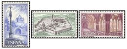 MONASTER. VERUELA - AÑO 1967 - Nº EDIFIL 1834-36 - 1931-Hoy: 2ª República - ... Juan Carlos I