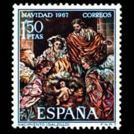 NAVIDAD - AÑO 1967 - Nº EDIFIL 1838 - 1931-Hoy: 2ª República - ... Juan Carlos I