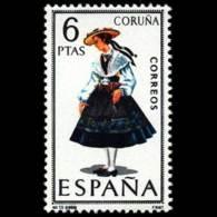 TRAJES TIPICOS - AÑO 1968 - Nº EDIFIL 1841 - 1931-Hoy: 2ª República - ... Juan Carlos I