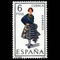 TRAJES TIPICOS - AÑO 1968 - Nº EDIFIL 1842 - 1931-Hoy: 2ª República - ... Juan Carlos I