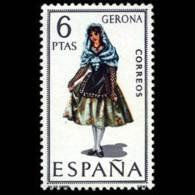 TRAJES TIPICOS - AÑO 1968 - Nº EDIFIL 1844 - 1931-Hoy: 2ª República - ... Juan Carlos I