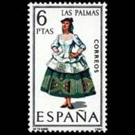 TRAJES TIPICOS - AÑO 1968 - Nº EDIFIL 1845 - 1931-Hoy: 2ª República - ... Juan Carlos I