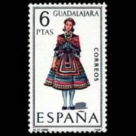 TRAJES TIPICOS - AÑO 1968 - Nº EDIFIL 1847 - 1931-Hoy: 2ª República - ... Juan Carlos I