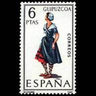 TRAJES TIPICOS - AÑO 1968 - Nº EDIFIL 1848 - 1931-Hoy: 2ª República - ... Juan Carlos I