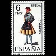 TRAJES TIPICOS - AÑO 1968 - Nº EDIFIL 1849 - 1931-Hoy: 2ª República - ... Juan Carlos I