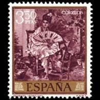 MARIANO FORTUNY - AÑO 1968 - Nº EDIFIL 1861 - 1931-Hoy: 2ª República - ... Juan Carlos I