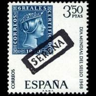 DIA MUNDIAL SELLO - AÑO 1968 - Nº EDIFIL 1870 - 1931-Hoy: 2ª República - ... Juan Carlos I