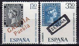 DIA MUNDIAL SELLO - AÑO 1968 - Nº EDIFIL 1869-70 - 1931-Hoy: 2ª República - ... Juan Carlos I
