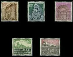 SERIE TURISTICA - AÑO 1968 - Nº EDIFIL 1875-79 - 1931-Hoy: 2ª República - ... Juan Carlos I