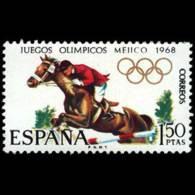 JJ.OO. MEXICO - AÑO 1968 - Nº EDIFIL 1886 - 1931-Hoy: 2ª República - ... Juan Carlos I