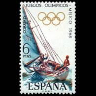 JJ.OO. MEXICO - AÑO 1968 - Nº EDIFIL 1888 - 1931-Hoy: 2ª República - ... Juan Carlos I