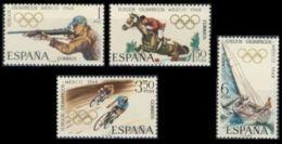 JJ.OO. MEXICO - AÑO 1968 - Nº EDIFIL 1885-88 - 1931-Hoy: 2ª República - ... Juan Carlos I