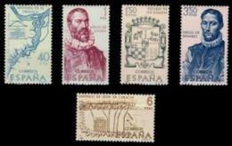 FORJADORES AMÉRICA - AÑO 1968 - Nº EDIFIL 1889-93 - 1931-Hoy: 2ª República - ... Juan Carlos I