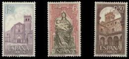 MON.STA.Mª.PARRAL - AÑO 1968 - Nº EDIFIL 1894-96 - 1931-Hoy: 2ª República - ... Juan Carlos I