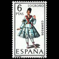 TRAJES TIPICOS - AÑO 1969 - Nº EDIFIL 1902 - 1931-Hoy: 2ª República - ... Juan Carlos I