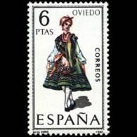 TRAJES TIPICOS - AÑO 1969 - Nº EDIFIL 1909 - 1931-Hoy: 2ª República - ... Juan Carlos I