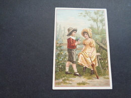 Chromo ( 1220 )  Publicité  Reclame - Chocolade  Chocolat  Van Houten - Van Houten