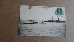 """LA CATASTROPHE DU """"PLUVIOSE""""  26 Mai 1910 -Travaux De Sauvetage - Calais"""