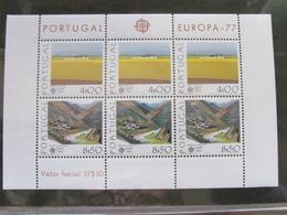 EUROPA CEPT - PORTUGAL FOGLIETTO EUROPA 77 - 1977