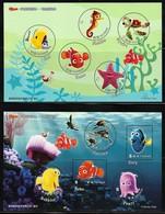 2008/2012 Taiwan Disney/Pixar Movies: Nemo And Toy Story Minisheets (** / MNH / UMM, Self Adhesive) - Disney