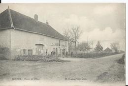 CPA - 39 -  Ecleux - Route De Dole - Jura - France