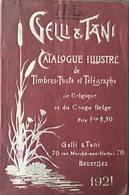 Vello Et Tani, Catalogue Illustré De Belgique Et Du Congo Belge 1921. - België