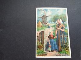 Chromo ( 1227 )  Publicité  Reclame - Chocolade  Chocolat  Chocolaterie  GROOTES  Westzaan  Holland - Autres