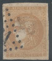 Lot N°52395  N°43Bd Bistre Brun, Oblit GC, Oblitération à Coté Du GC ?????, Belles Marges, Ni Pli, Ni Clair - 1870 Uitgave Van Bordeaux
