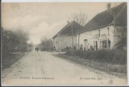 CPA - 39 -  Ecleux - Route De Pontarlier   - Jura - France