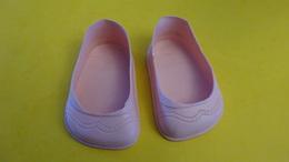 Anciennes Chaussures De Poupée Taille 65 - Jouets Anciens