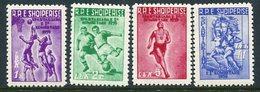 ALBANIA 1959 National Spartakiad MNH / **.  Michel 578-81 - Albanien