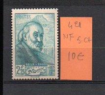 MAURY N° 421  NF Sans Trace De Charnière  N° 9 - Marcophilie (Timbres Détachés)