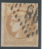 Lot N°52397  N°43Ba Bistre Orangé, Oblit GC,bonnes Marges, Ni Pli, Ni Clair - 1870 Uitgave Van Bordeaux