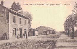 70 - FONTAINE LES LUXEUIL / LA GARE - Frankreich
