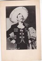 JORGE NEGRETE. ACTOR, AND SINGER FROM GUANAJUATO, MEXICO. CANTANTE, ACTEUR CHANTEUR. PHOTO FOTO -LILHU - Berühmtheiten