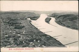 Ansichtskarte Bad Godesberg-Bonn Blick Vom Drachenfels Rheinaufwärts 1913 - Bonn
