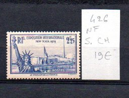 MAURY N° 426  NF Sans Trace De Charnière  N° 13 - Marcophilie (Timbres Détachés)