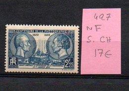 MAURY N° 427  NF Sans Trace De Charnière  N° 14 - Marcophilie (Timbres Détachés)