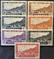 SÉNÉGAL 1935 - MLH - YT 114-120 - Senegal (1887-1944)