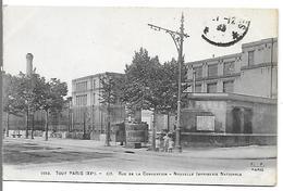 Tout PARIS  (XV°) - 117 Rue De La Convention - Nouvelle Imprimerie Nationale - France