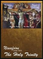 TONGA (Niuafo'ou) 2015 - Pâques 2015, Peintures Christ Sur La Croix - BF Neuf // Mnh - Tonga (1970-...)