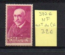 MAURY N° 377 A   NF Avec Trace De Charnière  N° 22 - Marcophilie (Timbres Détachés)