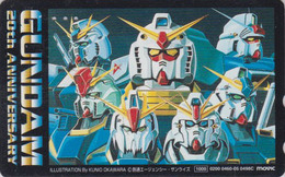 Télécarte Japon / 110-016 - MANGA -  GUNDAM / 20TH ANNIVERSARY - ANIME Japan Phonecard - BD Comics  - Movic 11903 - Comics