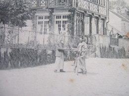 """77 - BOIS LE ROI - """" LA JEANNETTE , MAISON HISTORIQUE """" - CARTE PIONNIERE... - Bois Le Roi"""