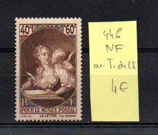 MAURY N° 446   NF Avec Trace De Charnière  N° 23 - Marcophilie (Timbres Détachés)