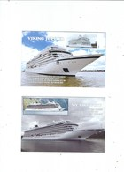 2 POSTCARDS Of SHIPS IN THE VIKING OCEAN LINE FLEET  VIKING JUPITER AND VIKING SKY - Other