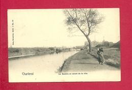 C.P. Charleroi  = La  SAMBRE  En  Amont  De La Ville - Charleroi