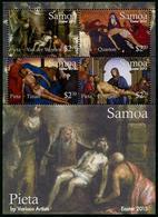 SAMOA - 2015 - Paques 2015, Peintures, Pieta Par Divers Peintres - BF Neufs // Mnh - Samoa